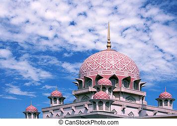 putra, mesquita, malásia