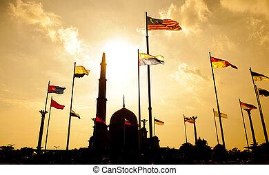 putra, mezquita, malasia