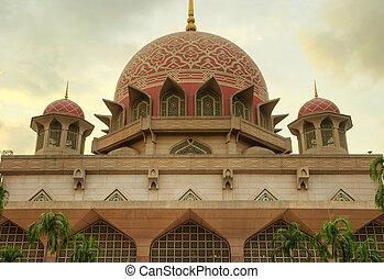 putra, moschea, malaysia, putrajaya