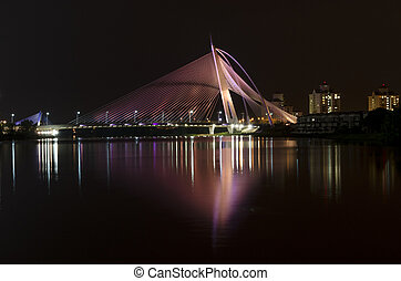 Putrajaya Bridge - This image is taken at Putrajaya on...