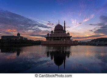 Putrajaya Mosque - Putra mosque the principal mosque of...