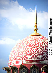 Putrajaya Mosque - An amazingly beautiful mosque in...