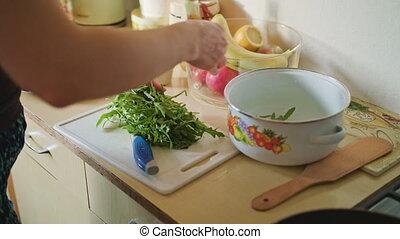 Puts on the Board Arugula Salad