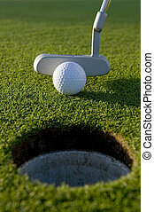 putt, golf