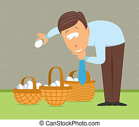 Putting eggs in different baskets