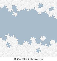 puzzel, hintergrund, stücke