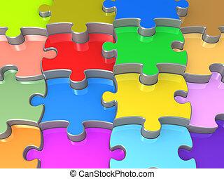 puzzel, stichsaege, 3d