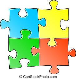 puzzel, stichsaege