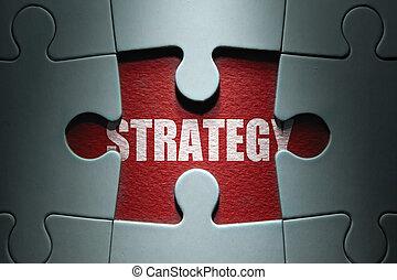puzzel, stichsaege, strategie