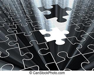 puzzle 3D.