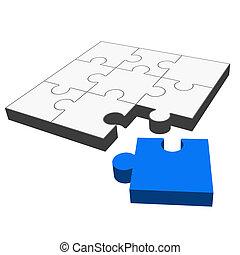 Puzzle 3D - it fits!