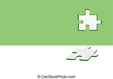 Puzzle abstract vector background