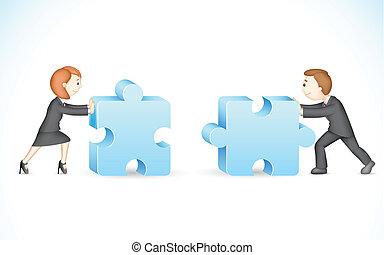 puzzle, business