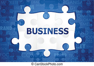 puzzle, business