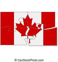puzzle, canadien