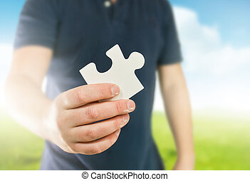 puzzle, clã©