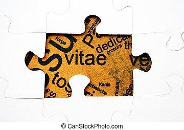 puzzle, concept, cv