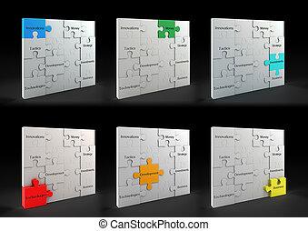 puzzle, concetti