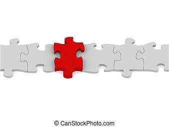 puzzle, connexion