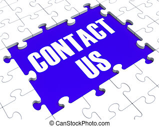 puzzle, contact, projection, nous, aide