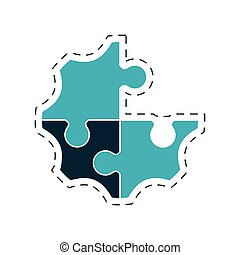 puzzle creative solution image