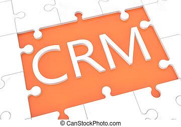 Puzzle CRM concept