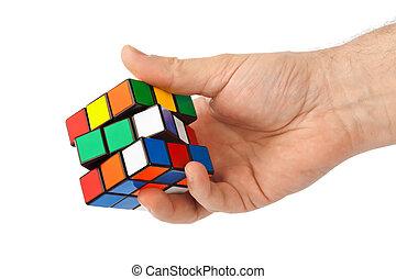 puzzle, cube, main