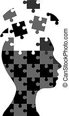 puzzle, donna