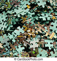 puzzle - Game for development of abstract thinking