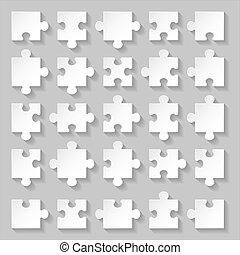 puzzle, ensemble