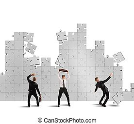 Puzzle fall and failure
