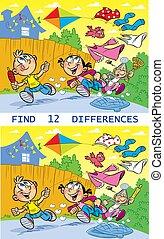 puzzle find twelve differences