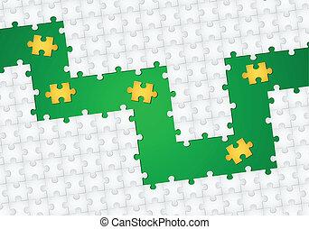 puzzle, fondo