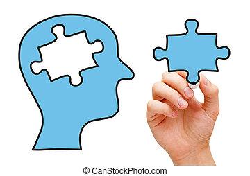 Puzzle Head Concept