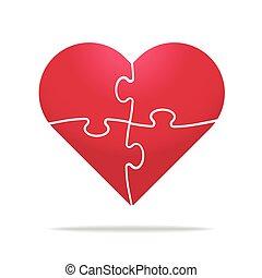 Half heart Vector Clip Art Royalty Free. 660 Half heart ...