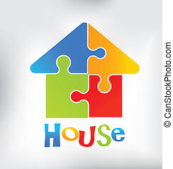 Puzzle house
