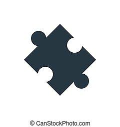 puzzle, icona