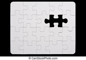 puzzle, incomplet