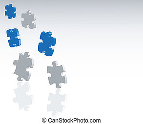puzzle , jigsaw background