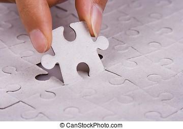 puzzle, jigsaw, gioco