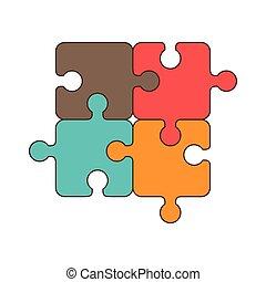 puzzle jigsaw piece - puzzle piece game jigsaw part elements...
