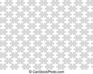 puzzle, jigsaw, seamless, fondo