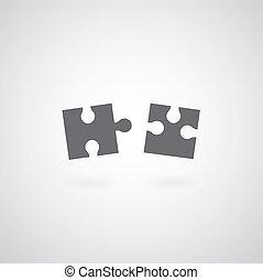 puzzle, jigsaw, simbolo