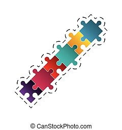 puzzle jigsaw solution image