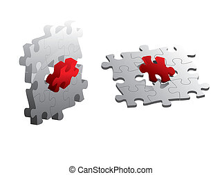 puzzle, jigsaw