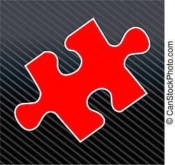 puzzle, morceau puzzle