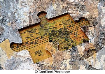 puzzle, musica