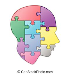 Puzzle of human mind