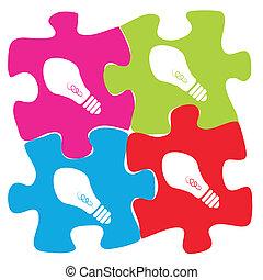 puzzle of ideas