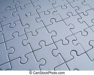 Puzzle pattern - Puzzlu background